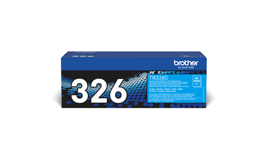 Brother TN-326C Tonerkartusche – Cyan 2