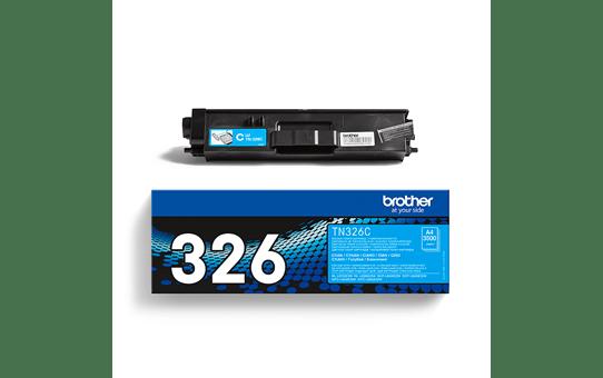 Brother TN326C: оригинальный голубой тонер-картридж. 3