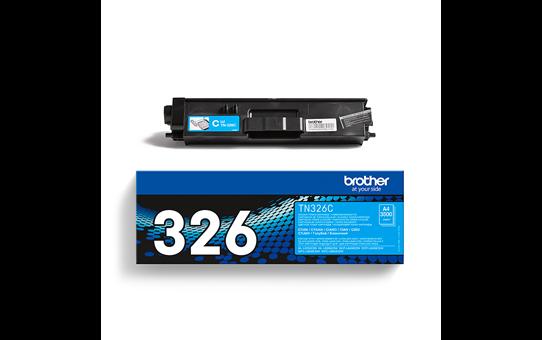 Oriģināla Brother TN-326C tonera kasetne, ciāna krāsa.  3