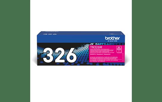 Brother TN326M toner magenta - haut rendement 2