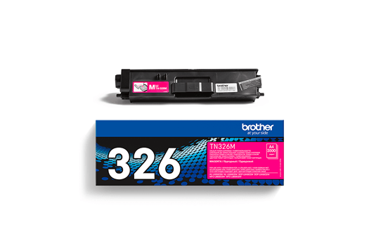 Genuine Brother TN-326M Toner Cartridge – Magenta
