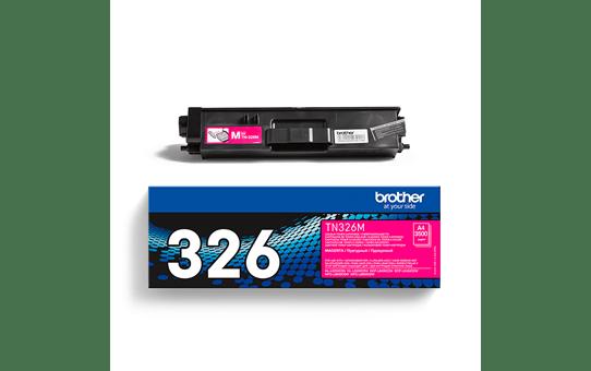 Oriģināla Brother TN-326M  tonera kasetne, fuksīna krāsā. 3