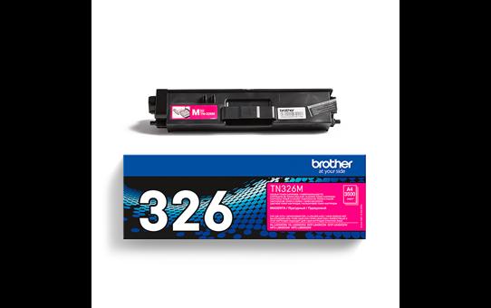 Original Brother TN326M høykapasitet toner – magenta 3
