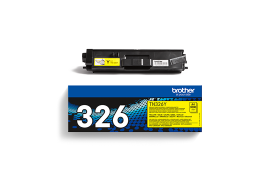 Brother TN326Y toner jaune - haut rendement