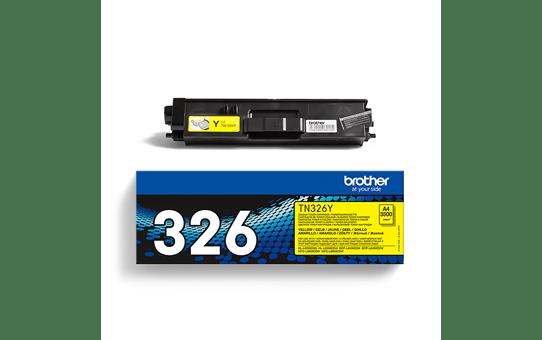Original Brother TN326Y høykapasitet toner – gul 3