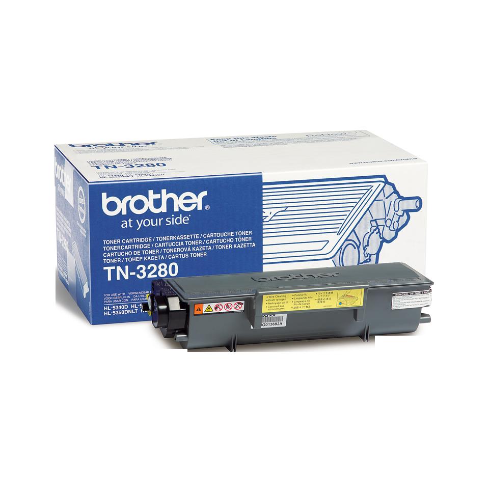 Tóner negro TN3280, Brother