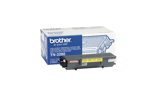 Cartouche de toner TN-3280 Brother originale à haut rendement – Noir