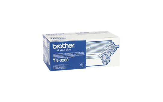 Brotherin alkuperäinen TN3280-suurvärikasetti - Musta 2
