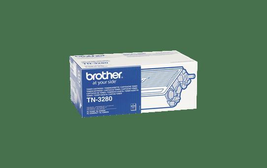 Originali Brother TN3280 didelio našumo dažų kasetė – juodos spalvos  2
