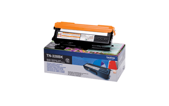 Cartouche de toner TN-328BK Brother originale – Noir 2