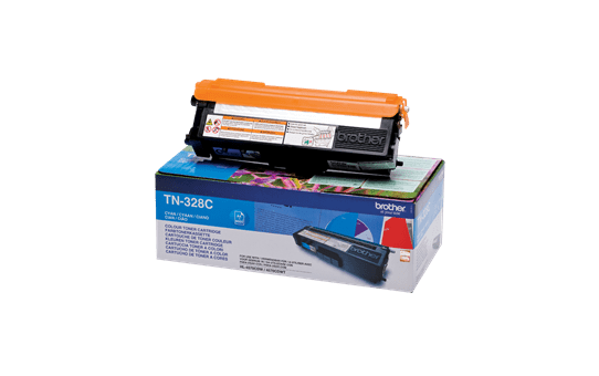 Cartuccia di toner originale Brother TN-328C – Ciano 2