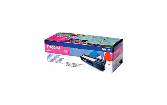 Original Brother TN328M super høykapasitet toner – magenta