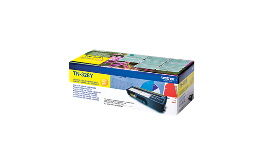 Brother TN328Y toner jaune - super haut rendement 2