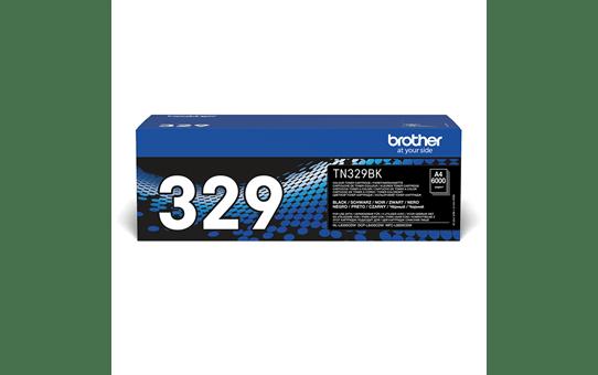 Brother TN-329BK toner nero originale ad altissima capacità