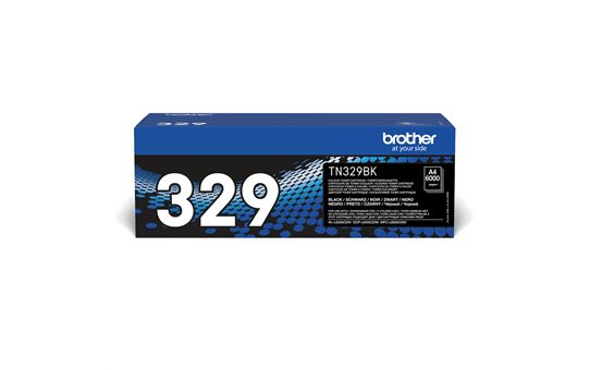 Brother original TN329BK tonerkassett – svart