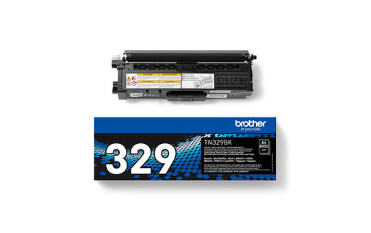 Brotherin alkuperäinen TN329BK-laservärikasetti – Musta  3