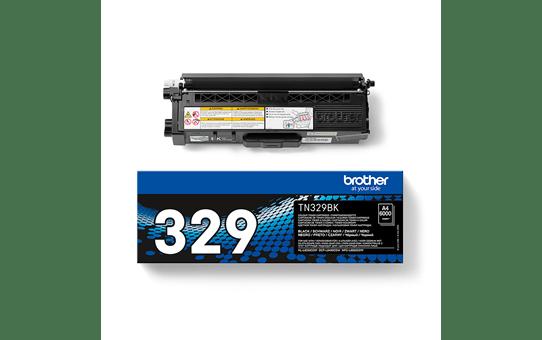 Brotherin alkuperäinen TN329BK-laservärikasetti – Musta  2
