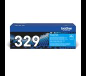 Original Brother TN329C super høykapasitet toner – cyan