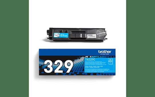 Brotherin alkuperäinen TN329C-laservärikasetti – Syaani 3