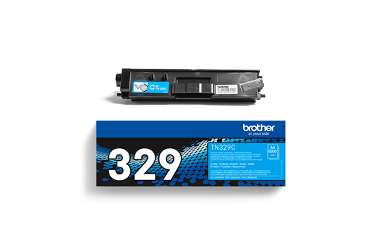 Brother TN329C toner cyaan - super hoog rendement