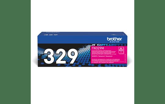 Originalen Brother TN-329M toner – magenta