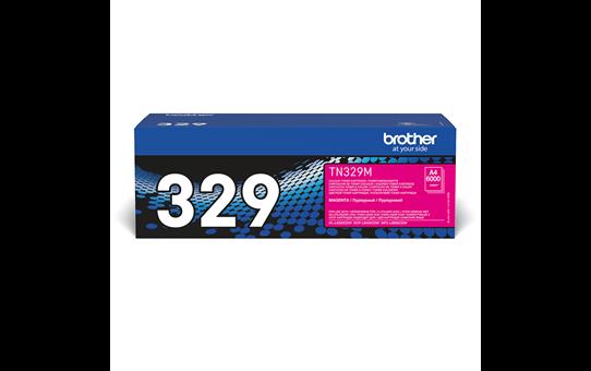 Genuine Brother TN-329M Toner Cartridge – Magenta