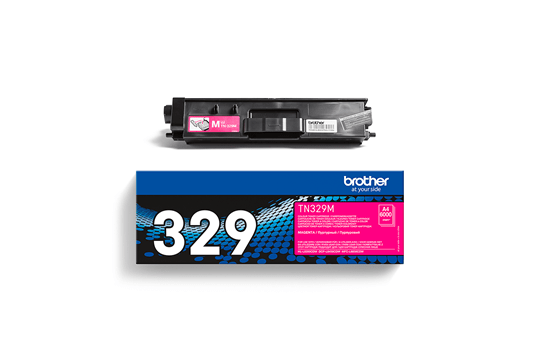 Cartouche de toner TN-329M Brother originale – Magenta 2