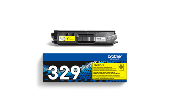 Genuine Brother TN-329Y Toner Cartridge – Yellow 3