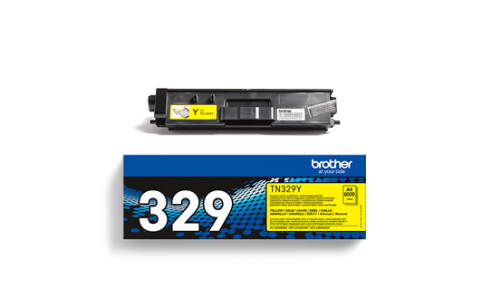 Originalan Brother TN-329Y toner – žuti 2