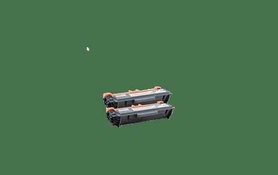 Genuine Brother TN-3390TWIN Extra High Yield Toner Cartridge Twin Pack – Black