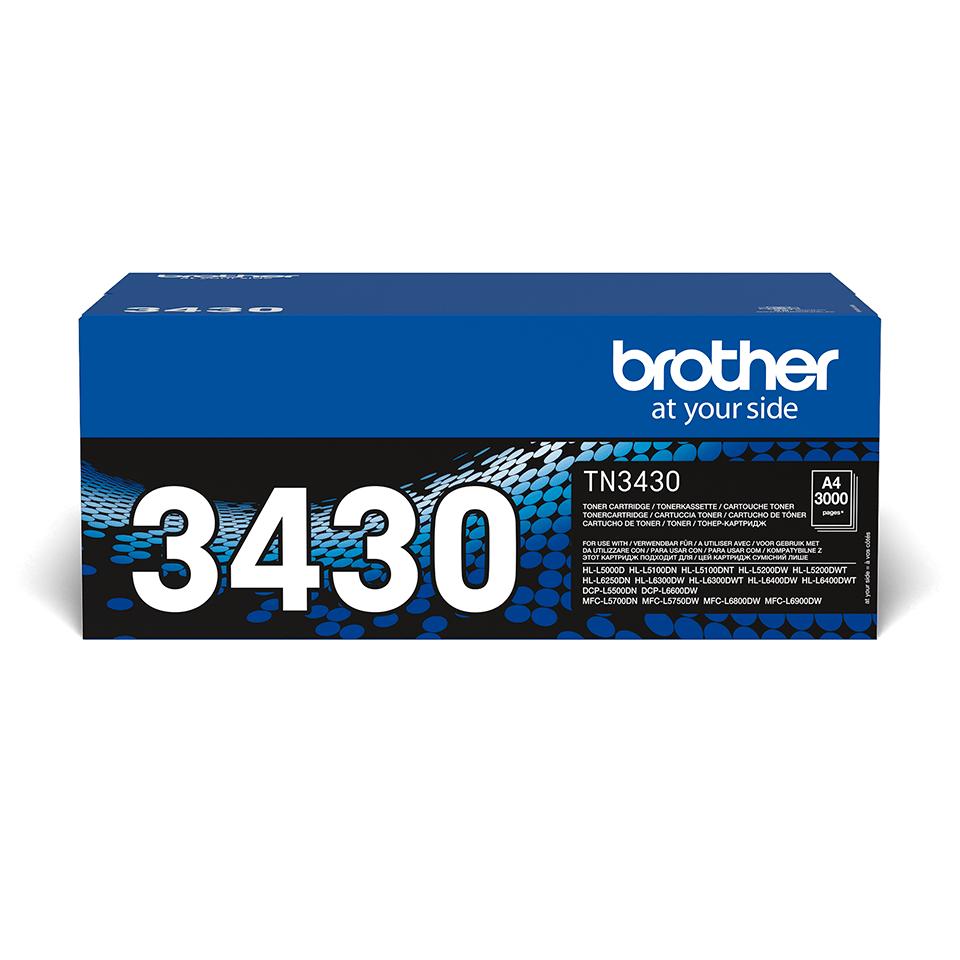 Tóner Negro TN3430 Brother