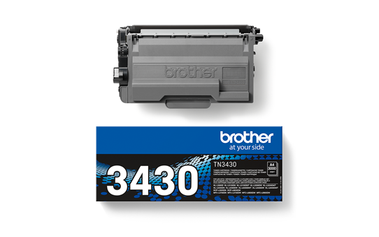 Genuine Brother TN-3430 Toner Cartridge – Black 2