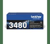 Originali Brother TN-3480 dažų kasetė – juodos spalvos