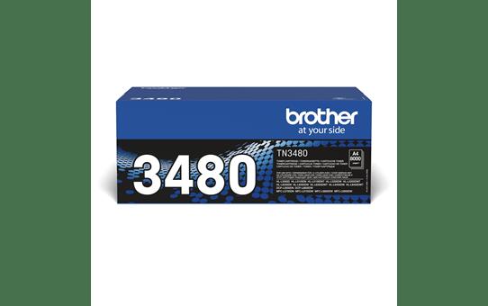 Originele Brother TN-3480 zwarte tonercartridge met hoge capaciteit