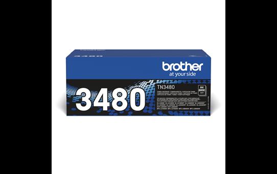Brother TN3480 toner noir - haut rendement 2