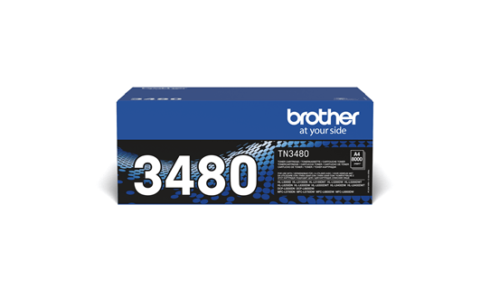 Genuine Brother TN3480 Toner Cartridge – Black