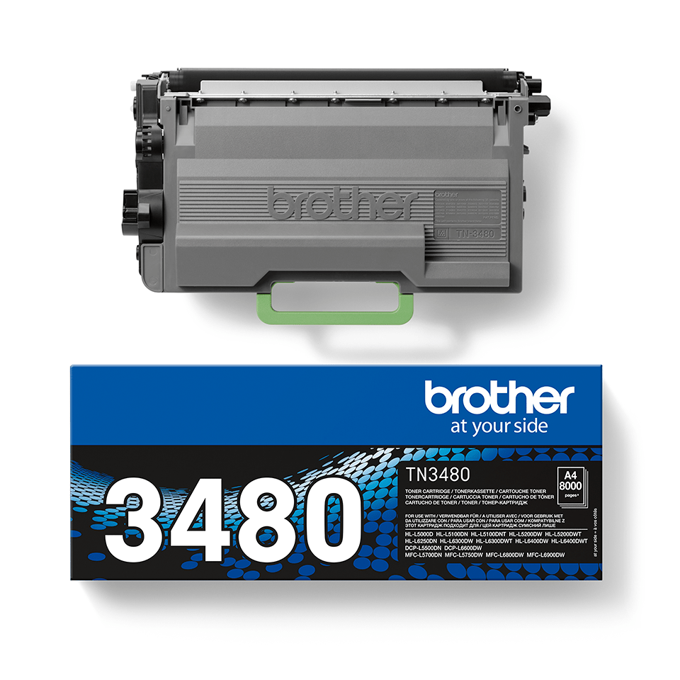 Brother TN3480 toner noir - haut rendement