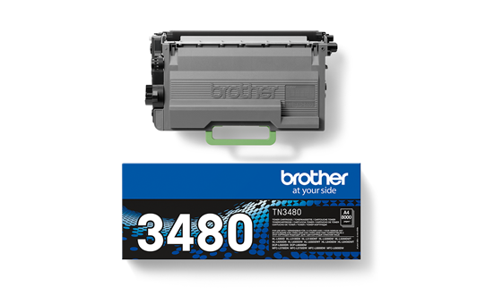 Brother TN3480 toner zwart - hoog rendement