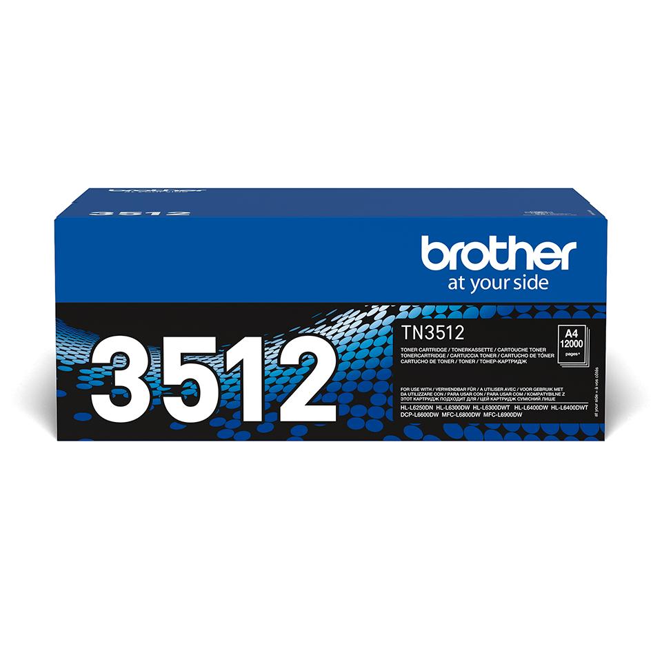 Brother TN3512 toner noir - super haut rendement 2