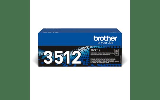 Genuine Brother High Yield TN-3512 Toner Cartridge – Black