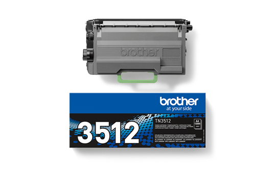 Genuine Brother High Yield TN-3512 Toner Cartridge – Black 3