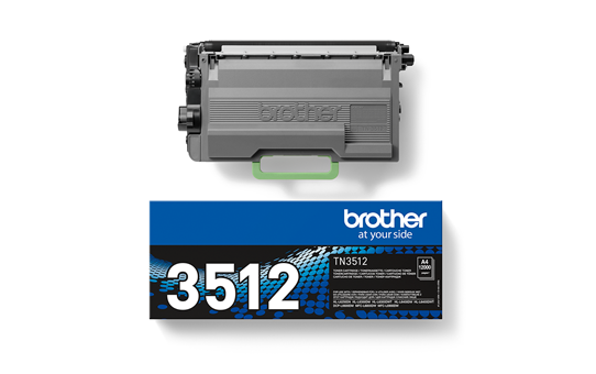 Cartuș de toner negru de capacitate mare original Brother TN-3512 2