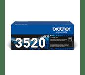 Oryginalny ultra wysokowydajny czarny toner Brother TN-3520