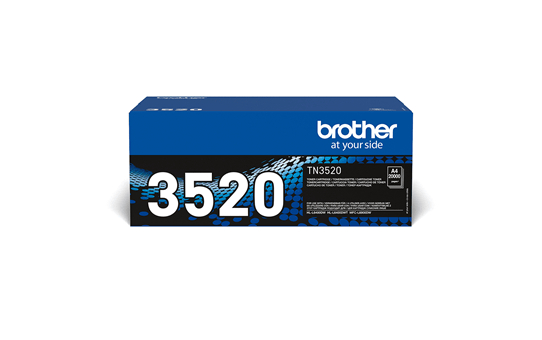 Genuine Brother TN3520 Ultra High Yield Toner Cartridge – Black