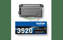 Genuine Brother TN3520 Ultra High Yield Toner Cartridge – Black 3