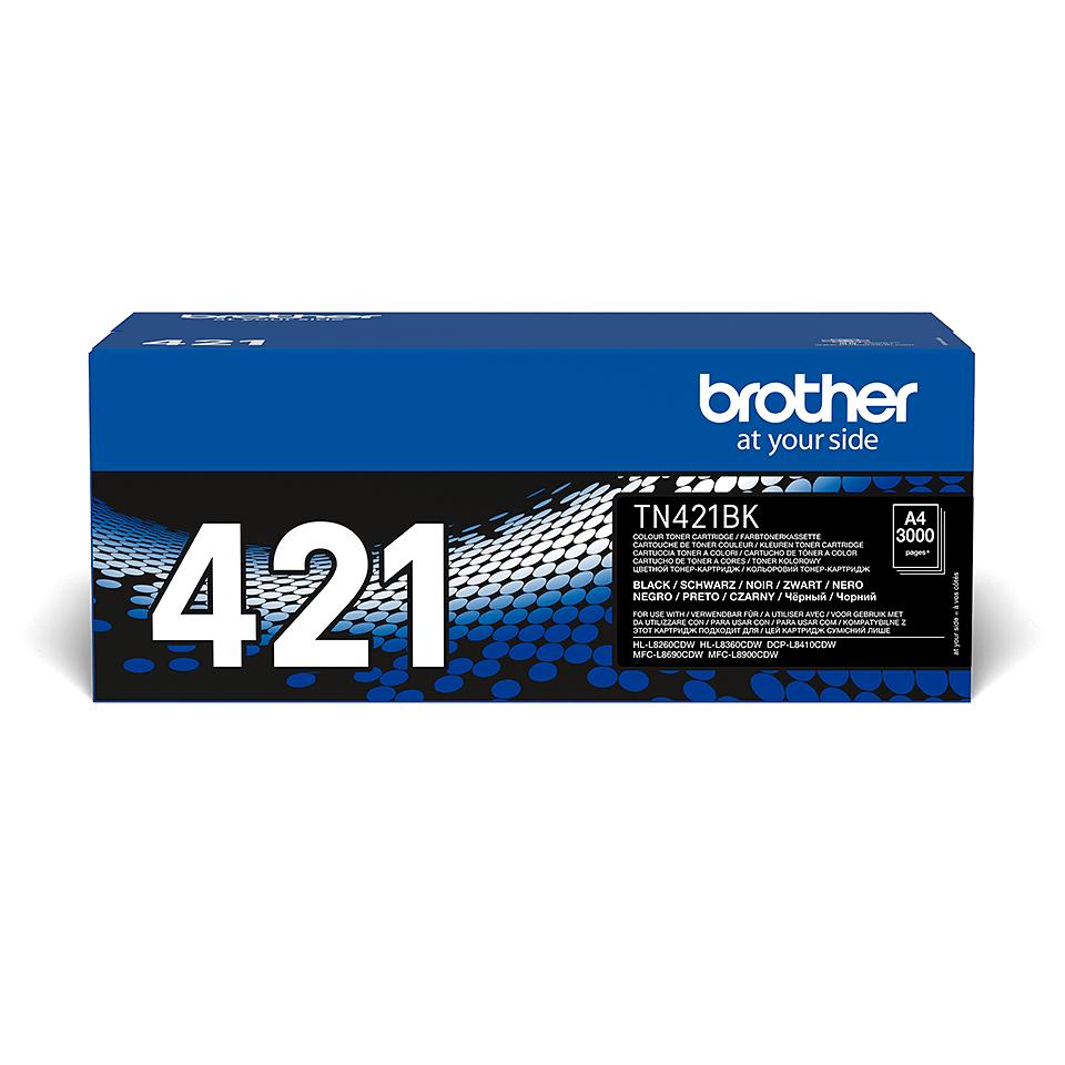 Toner preto TN421BK Brother