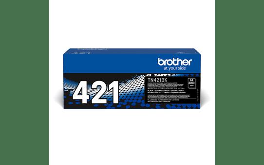 Genuine Brother TN421BK Toner Cartridge – Black