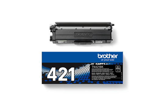 Оригинална тонер касета Brother TN-421BK – Черно  3