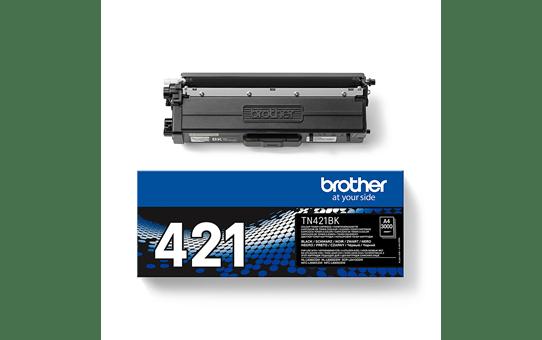 Originali Brother TN-421BK rašalo kasetė – juodos spalvos 3