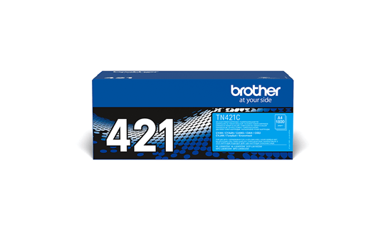 Genuine Brother TN-421C Toner Cartridge – Cyan 2